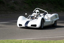Thor Thorson with 1962 Elva MK 6 in Group 1 - at the 2016 SOVREN Spring Sprints, Pacific Raceway
