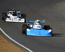 Carl Moore with 1976 March 76B in  Group 7 at the 2015 Season Finale at Thunderhill Raceway