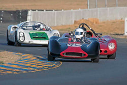 Leland Osborn - 1963 Genie MK5 in Group 4&5 - Small Displacement Sports Racing Cars through 1967 & Formula Junior & Formula Vee open wheel cars at the 2017 CSRG Charity Challenge run at Sonoma Raceway