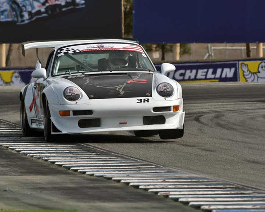 Jeff Gamroth with 1997 Porsche 993 RSR in Group 1 - PCA Sholar-Friedman Cup at the 2015 Rennsport Reunion
