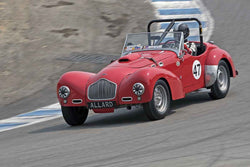 Jon Lecarner - 1951 Allard K2 in Group 1B  at the 2016 Rolex Monterey Motorsport Reunion - Mazda Raceway Laguna Seca