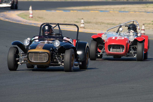 Paul Quackenbush - 1963 Lotus S-7 in Group 3 -  at the 2016 Charity Challenge - Sonoma Raceway