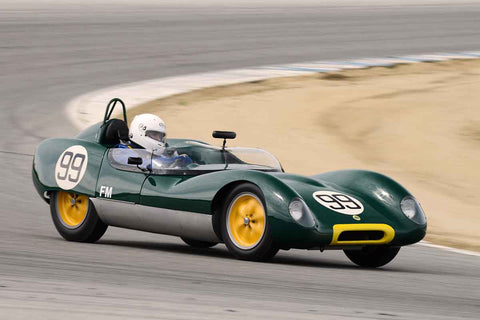 Thor Johnson - 1959 Lotus 17 in Group 1 at the 2017 HMSA Spring Club Event - Mazda Raceway Laguna Seca