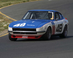 Gary Cook driving his 1970 Datsun 240Z in Group 8 at the 2015 CSRG David Love Memorial Vintage Car Road Races at Sonoma Raceway