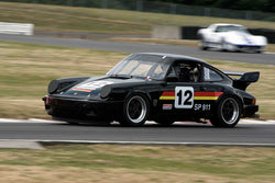 David Barton with 1988 Porsche 911 in Group 6 & 10 -  at the 2016 Portland Vintage Racing Festival - Portland International Raceway