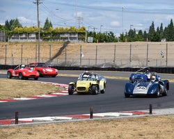 Groups 3and4 in Group 3 - Medium Displacement Production Card at the 2015 Portland Vintage Racing Festival at Portland International Raceway