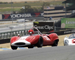 John Baird with 1964 Bobsy SR 3 in Group 7 - 1959-1966 Sports Racing and 1964-1970 FIA Cars at the 2015 Sonoma Historic Motorsports Festival at Sonoma Raceway