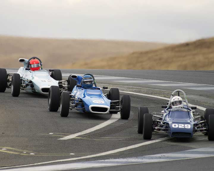 Forrest Teran with 1971 Titan MK6 in  Group 6 at the 2015 Season Finale at Thunderhill Raceway
