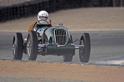 Jan Voboril - 1935 Alta Grand Prix in Group 2A - 1927-1951 Racing Cars at the 2017 Rolex Monterey Motorsport Reunion run at Mazda Raceway Laguna Seca