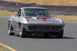 William Hair - Chevrolet Corvette in 1956-72 Production & GT Cars Over 2000cc - Group 6 at the 2017 SVRA Sonoma Historic Motorsports Festivalrun at Sonoma Raceway