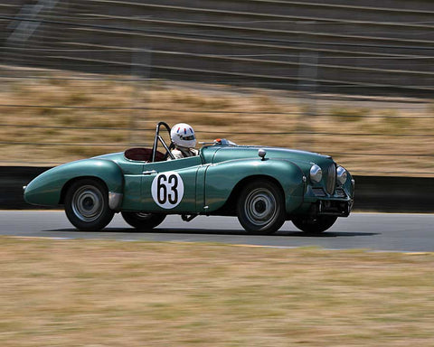 Scott Renner with 1952 Jowett Jupiter in Group 2 - 1946-1955 Sports Racing and Production Cars at the 2015 Sonoma Historic Motorsports Festival at Sonoma Raceway