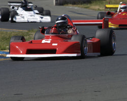 Allen Nicholas driving his 1978 March 78B in Group 7 at the 2015 CSRG David Love Memorial Vintage Car Road Races at Sonoma Raceway