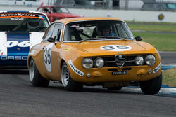 Andrew Cannon - 1971 Alfa Romeo GTAM - Group 8 at the 2017 Brickyard Vintage Racing Invitational run at Indianapolis Motor Speedway