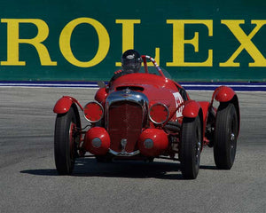 Joe Harding with 1939 LAGONDA V12 LE MANS in Group 1A - Pre 1940 Sports Racing and Touring Cars at the 2015-Rolex Monterey Motorsport Reunion, Mazda Raceway Laguna Seca