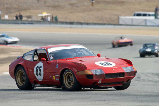 Jochon Mass - 1969  Ferrari 365 GTB/4 Daytona in Group 6B  at the 2016 Rolex Monterey Motorsport Reunion - Mazda Raceway Laguna Seca