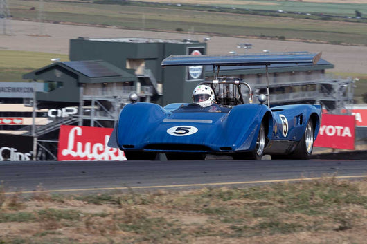Jim Gallucci with Lola 163 in Group 11 at the 2016 SVRA Sonoma Historics - Sears Point Raceway