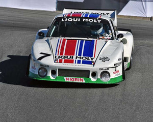 Stephen Harris with 1979 Porsche 935 in Group 5 - Carrera Trophy at the 2015 Rennsport Reunion V, Mazda Raceway Laguna Seca