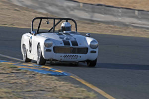 Will Carson - 1967 MG Midget in Group 2 -  at the 2016 Charity Challenge - Sonoma Raceway