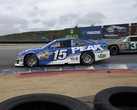Erickson Shirley with 2014 Toyota Camry in Group 5 at the 2015 HMSA LSR Invitational II at Mazda Raceway Laguna Seca
