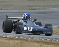 R Gray Gregory driving his 1977 Chevron B29 in Group 2 at the 2015 HMSA LSR Inventional I at Mazda Raceway Laguna Seca
