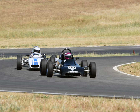 Rebecca Shippert driving her 1981 Crossle 45F in Group 6/7 at the 2015 CSRG Thunderhill Rolling Thunder at Thunderhill Raceway