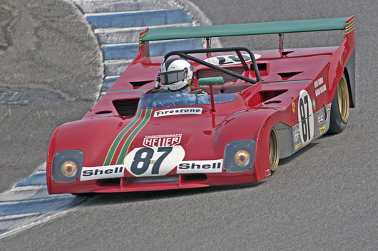 Bob Earl -  1972 Ferrari 312PB in Group 3B  at the 2016 Rolex Monterey Motorsport Reunion - Mazda Raceway Laguna Seca