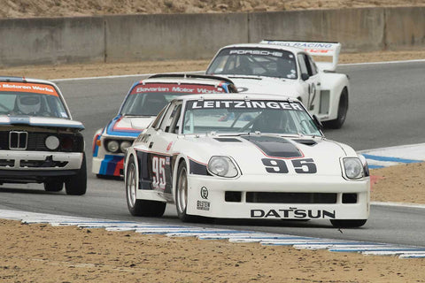 John Murray - 1980 Datsun 280ZX in Group 4A  at the 2016 Rolex Monterey Motorsport Reunion - Mazda Raceway Laguna Seca