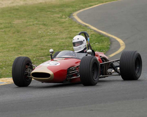 Steve Torp with 1966 Brabham BT 18 in Group 6 at the 2016 CSRG David Love Memorial - Sears Point Raceway