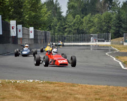 Chuck O'Connor with 1970 Winkelmann WDF2 in Group 2 - Open Wheel Prior to 1973 at the 2015 Portland Vintage Racing Festival at Portland International Raceway