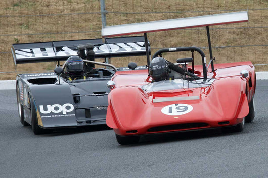 Greg Mitchell with 1969 Lola T163 in Group 11 at the 2016 SVRA Sonoma Historics - Sears Point Raceway