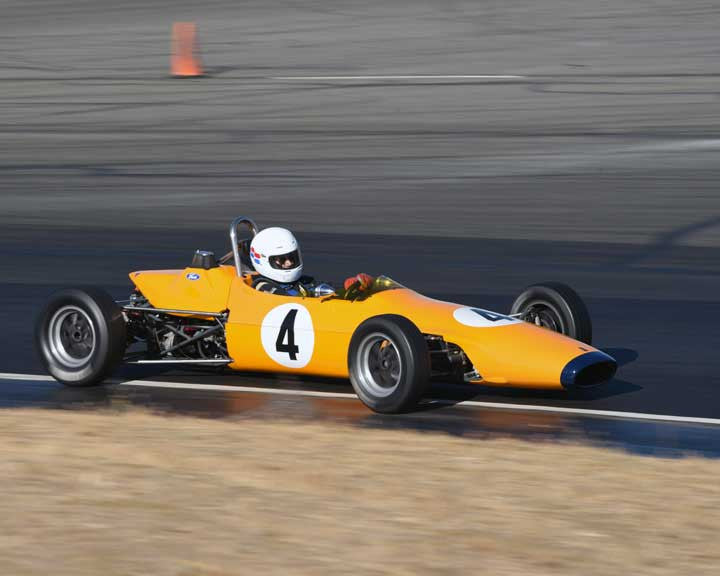 John Anderson with 1968 Titan Mk 4 in  Group 6 at the 2015 Season Finale at Thunderhill Raceway
