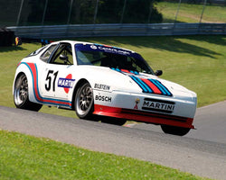 Robert Offley with 1987 Porsche 944 Turbo in Group 2 at the 2015 Sommet des LÌÄå_ÌÄåÌÄå_ÌÄå__gendes at Mt Tremblant