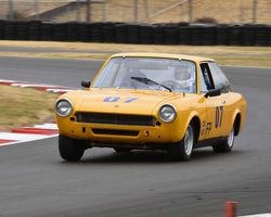 Steve Hare with 1969 FIAT 124SC in Group 3 - Medium Displacement Production Card at the 2015 Portland Vintage Racing Festival at Portland International Raceway