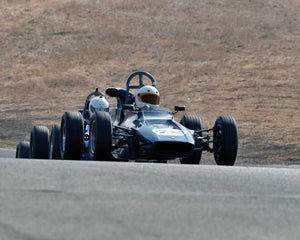 Chris Schoap with 1970 Titan FF Mark VI in  Group 6 at the 2015 Season Finale at Thunderhill Raceway