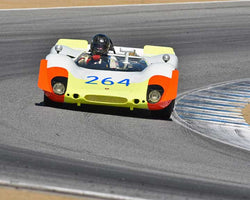 Richard Griot with 1969 Porsche 908with02 Spyder in Group 6A - FIA Manufacturers Championship Cars at the 2015-Rolex Monterey Motorsport Reunion, Mazda Raceway Laguna Seca
