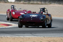 Stevan Dana with 1959 Elva Courier in Group 1  at the 2016 HMSA LSR II - Mazda Raceway Laguna Seca