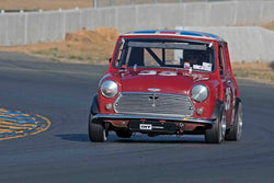 Jerry Orr - 1967 Austin Cooper S in Group 9 - Can-Am Mini Challenge at the 2017 CSRG Charity Challenge run at Sonoma Raceway