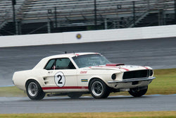 Ford Mustang - Group 6 at the 2017 Brickyard Vintage Racing Invitationalrun at Indianapolis Motor Speedway