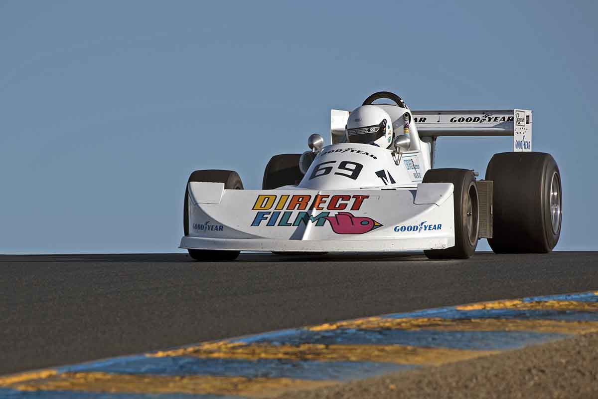 Dan Marvin - 1976 March 76B in Group 7 -  at the 2016 Charity Challenge - Sonoma Raceway