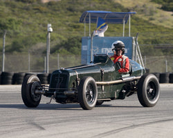 Paddins Dowling with 1934 ERA R2A at the 2016 HMSA LSR Invitational I at Mazda Raceway Laguna Seca