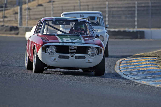 Brian Mertz - 1967 Alfa Romeo Giulia Sprint in Group 2 -  at the 2016 Charity Challenge - Sonoma Raceway