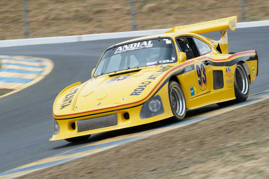 Steve Schmidt with 1976 Porsche 935K3 in Group 12 at the 2016 SVRA Sonoma Historics - Sears Point Raceway
