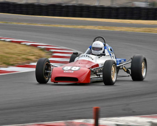 Neil Shelton with 1978 Crossle FF in Group 2 - Open Wheel Prior to 1973 at the 2015 Portland Vintage Racing Festival at Portland International Raceway