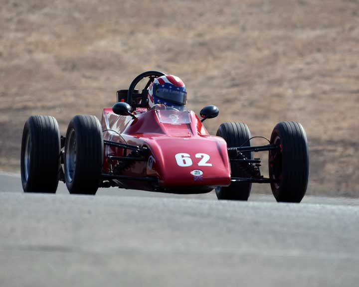 Duke Waldrop with 1973 Titan Mk9b in  Group 6 at the 2015 Season Finale at Thunderhill Raceway