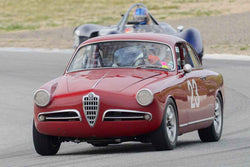 Glenn Oliveria - 1955 Alfa Romeo Giulietta in Group 1 at the 2017 HMSA Spring Club Event - Mazda Raceway Laguna Seca