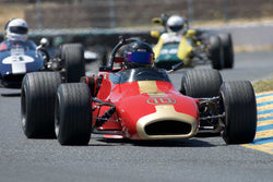 Ron Hornig with 1971 Brabham BT35  in Group 8 -  at the 2016 SVRA Sonoma Historics - Sears Point Raceway