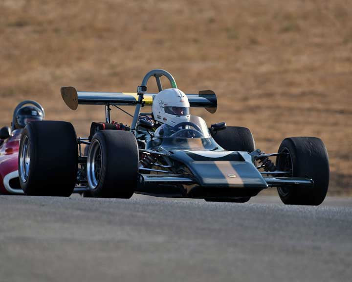 Bruce Leeson with 1969 Lotus 69 in  Group 7 at the 2015 Season Finale at Thunderhill Raceway