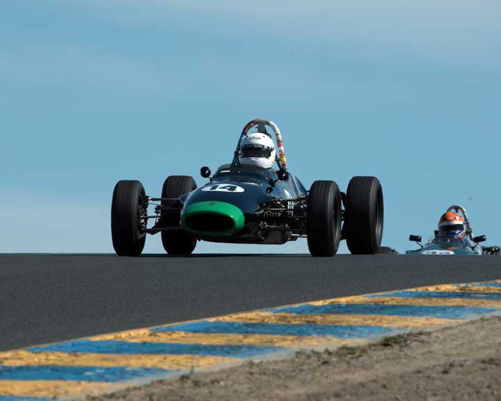Rob Laroque with 1968 Titan Mark V FF in Group 6 at the 2016 CSRG David Love Memorial - Sears Point Raceway