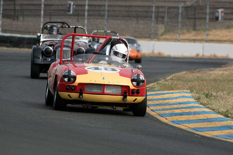 Thomas Turner with 1962 Triumph Spitfire 4 in Group 3 -  at the 2016 SVRA Sonoma Historics - Sears Point Raceway