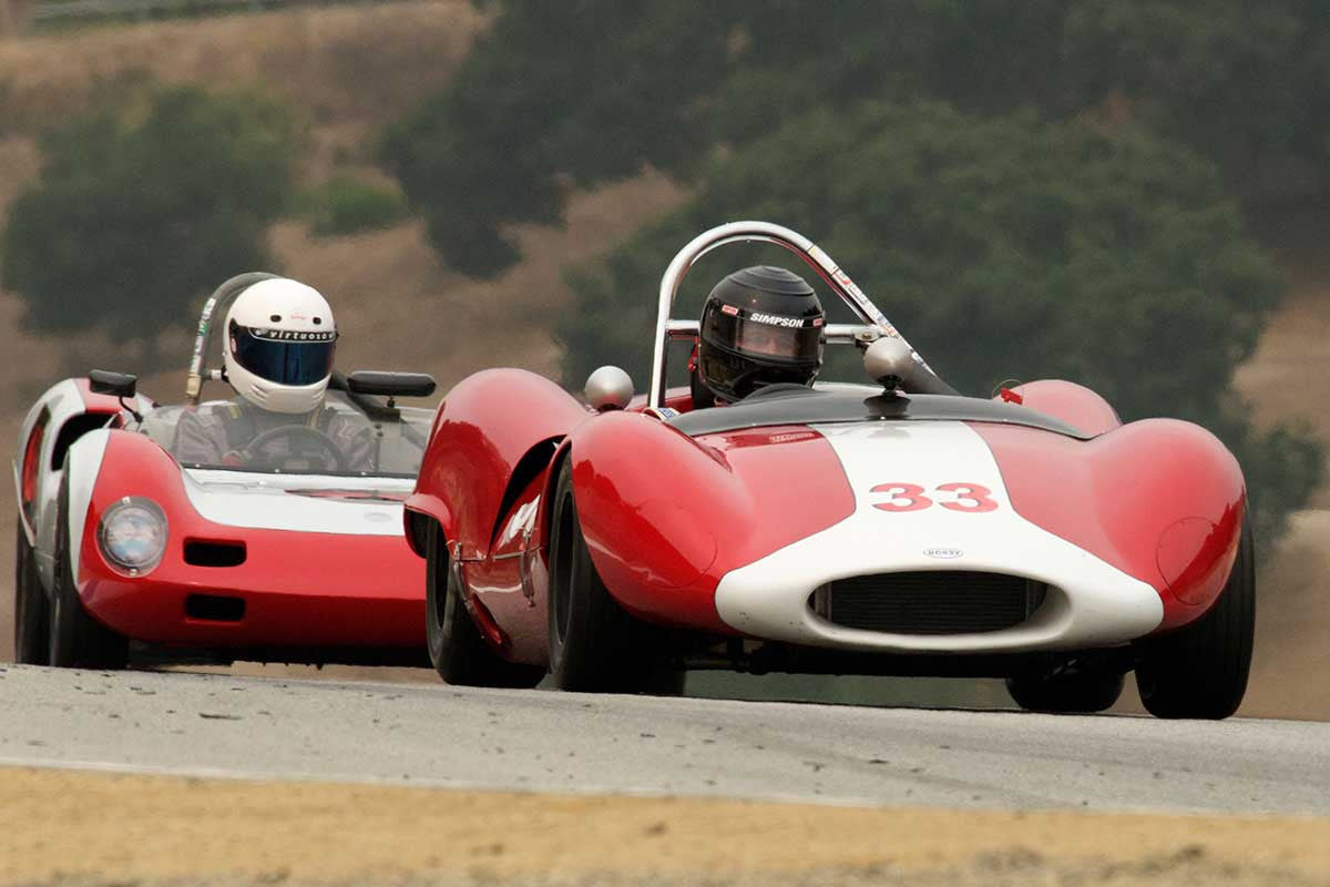 John Baird - 1964 Bobsy SR 3 in Group 5A  at the 2016 Rolex Monterey Motorsport Reunion - Mazda Raceway Laguna Seca
